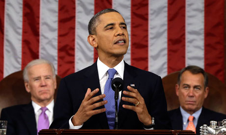 Obama State of Union 2013 speach
