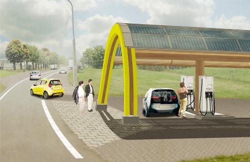Nederlandse Snelwegen Krijgen Oplaadpunten Voor Elektrische Auto S