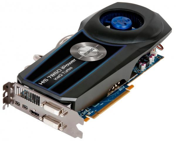 HIS komt met HD7850 IceQ Turbo met 4 GB geheugen