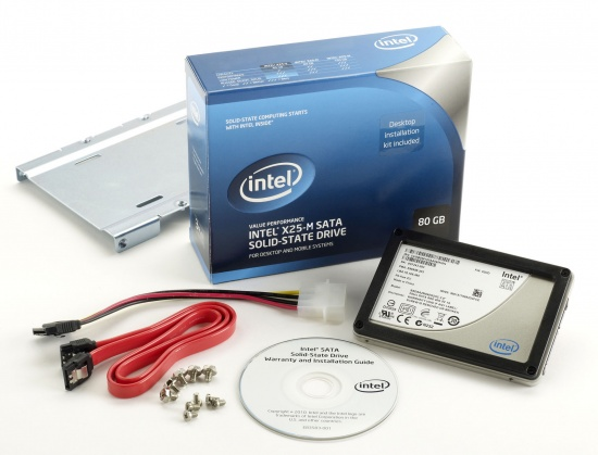 Intel X25-M 80GB SSD retail