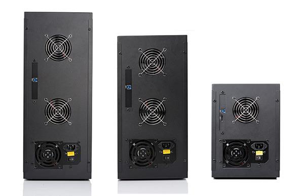 Maximaal 10 harde schijven in Orico's nieuwe externe HDD behuizing