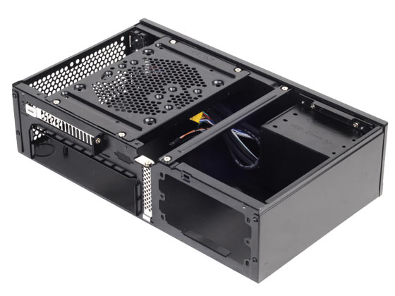 Mini-ITX HTPC-behuizing van SilverStone: Milo ML05