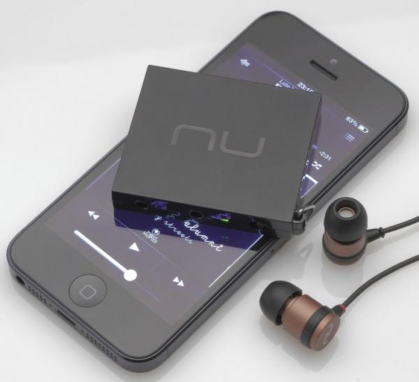 Mobiele versterker van NuForce: Mobile Music Pump