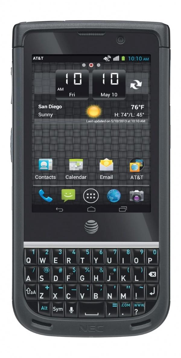 NEC Terrain rugged smartphone met Snapdragon S4
