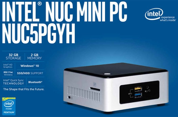 Intel NUC5PGYH