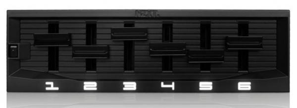 NZXT Sentry Mix 2 fancontroller kan 30 watt per kanaal leveren