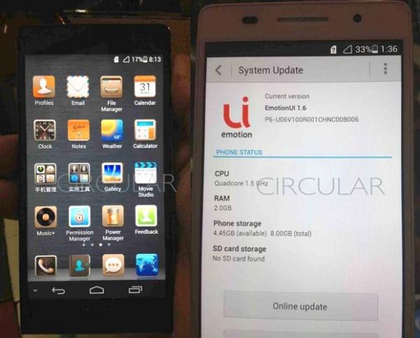 Nieuwe Huawei gespot: slanke metalen behuizing