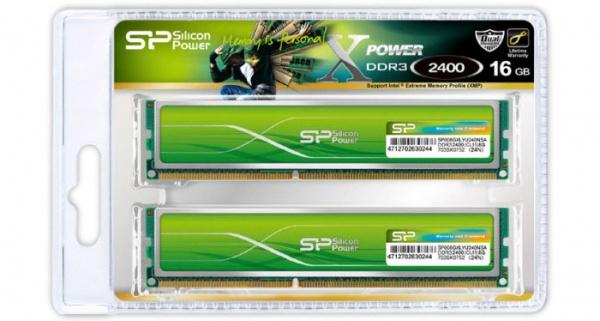 Nieuwe generatie Silicon Power Xpower DDR3-geheugen