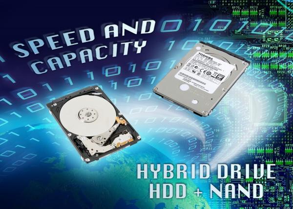 Nieuwe hybride harddisks van Toshiba