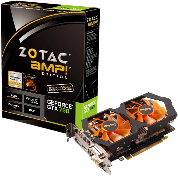 Nvidia partners lanceren GeForce GTX 760 videokaarten
