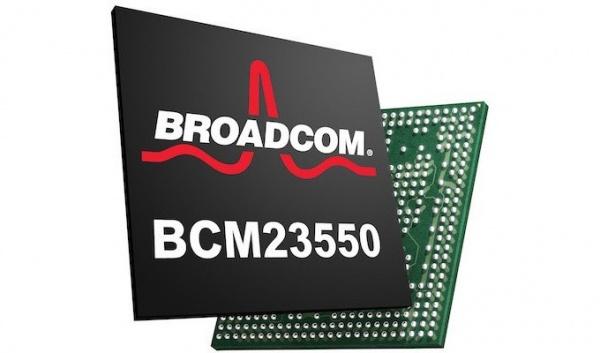 Quad-core BCM23550 SoC van Broadcom geïntroduceerd