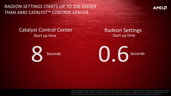 Radeon Software start sneller op?