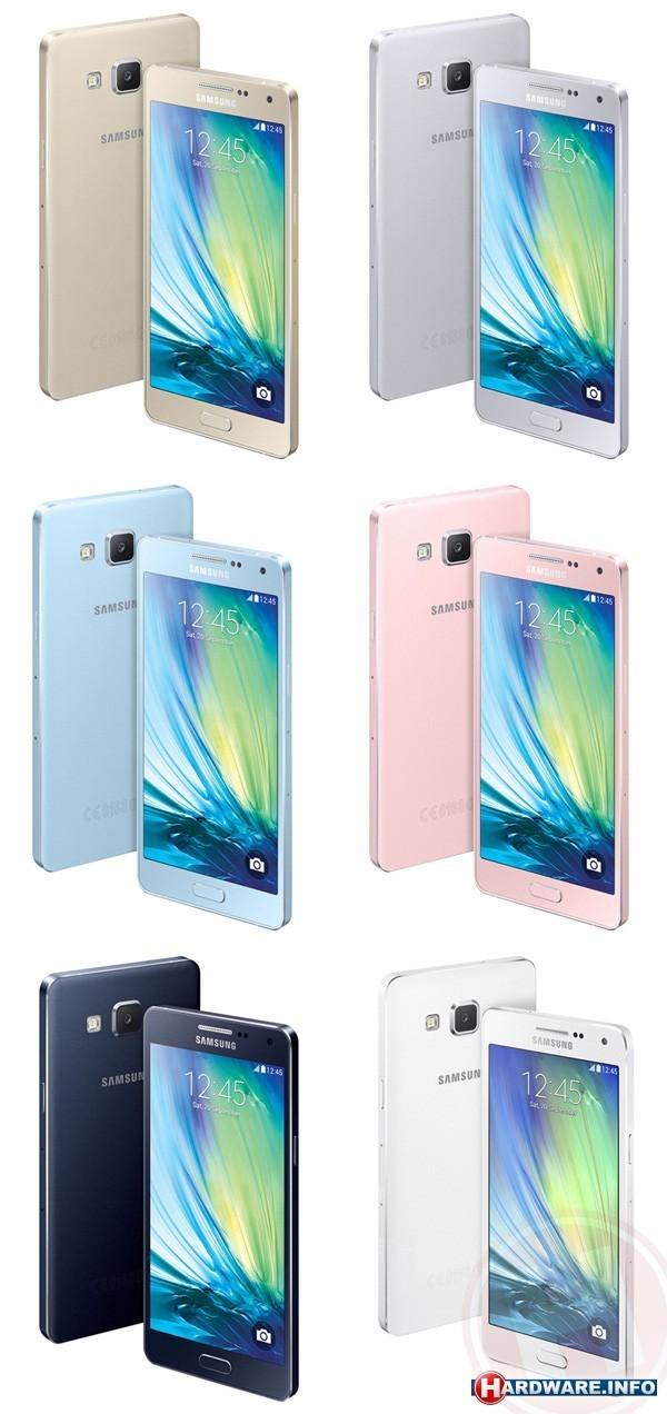 Samsung Introduceert Volledig Metalen Galaxy A5 En A3 Smartphones