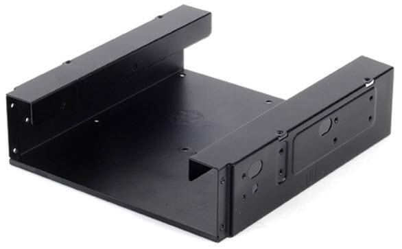 SilverStone introduceert 5,25-inch naar 3,5-inch en 2,5-inch converter: SDP10