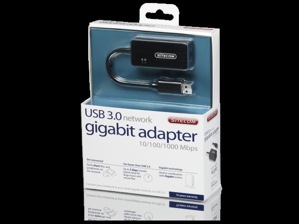 Sitecom maakt gigabit ethernet via USB haalbaar
