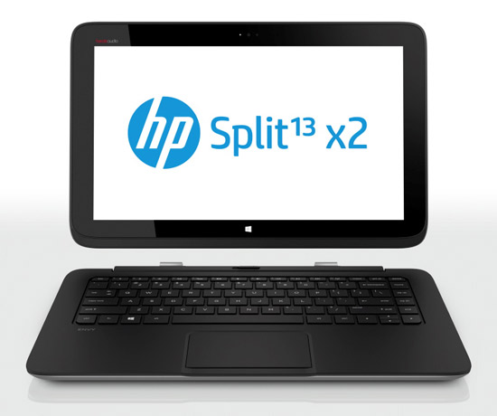 Strakke Windows 8 convertible met Intel processor HP Split X2