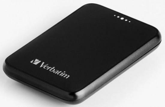 kleine 250 gb externe harddisk van verbatim. Black Bedroom Furniture Sets. Home Design Ideas