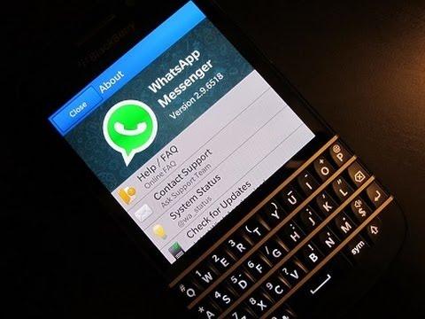 WhatsApp beëindigt ondersteuning BlackBerry OS en Symbian
