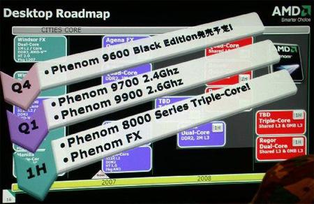 AMD processor roadmap, wederom uitstel