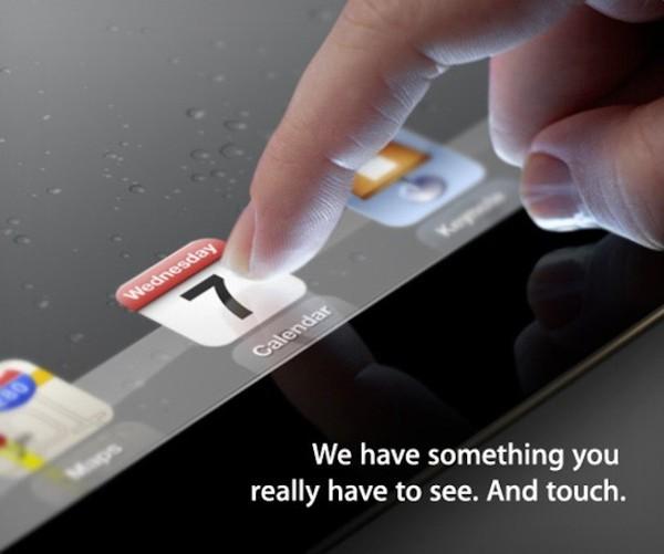 Apple iPad 3 aankondiging?