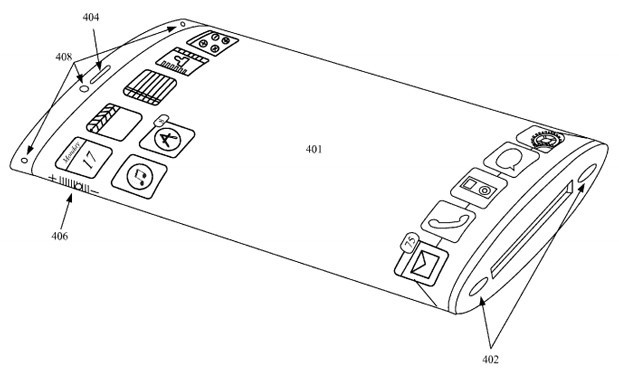 Apple patent voor flexibel display