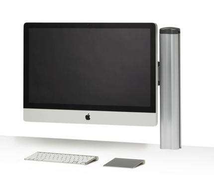 Apple iMac nu met VESA-aansluiting, zonder voet leverbaar ...