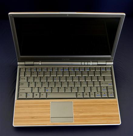 Nieuwe compacte Asus laptop met bamboe-accenten