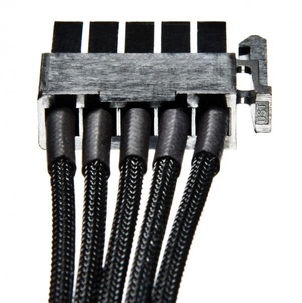 be quiet komt met individueel gesleevde modulaire kabels. Black Bedroom Furniture Sets. Home Design Ideas