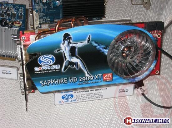 Sapphire Radeon HD 2900 XT met nieuwe koeler