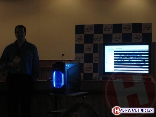 Intel V8 demonstratie op Computex