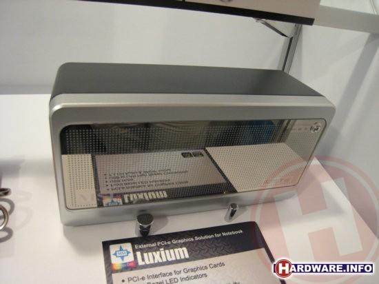 MSI Luxium externe videokaart