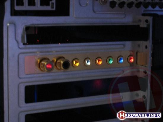ASUS Xonar lights