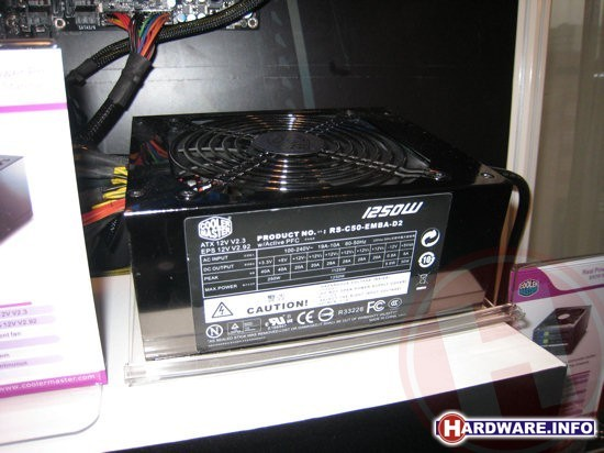 Cooler Master 1250 Watt voeding
