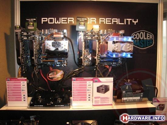 Cooler Master 1250 Watt demonstratie