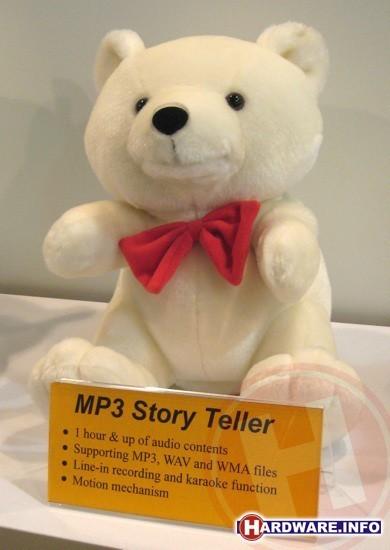 MP3 teddybeer
