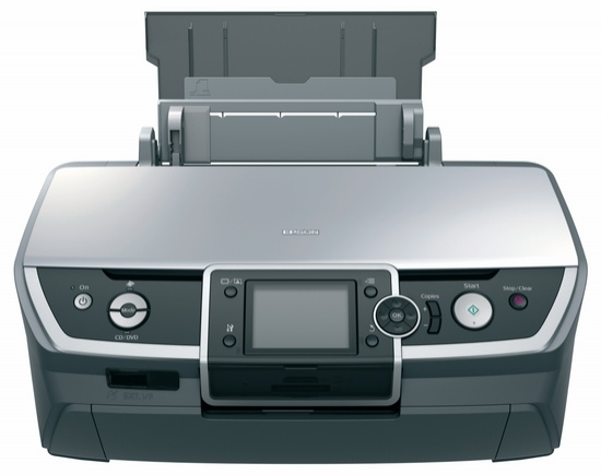 Reset Epson R printer by Epson resetter