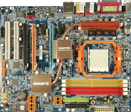 De Gigabyte GA-M59SLI-S5 ondersteunt op moment van schrijven nog geen Phenom