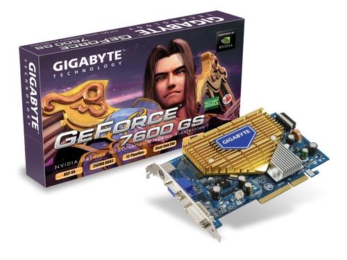 Gigabyte 7600GS Silent AGP