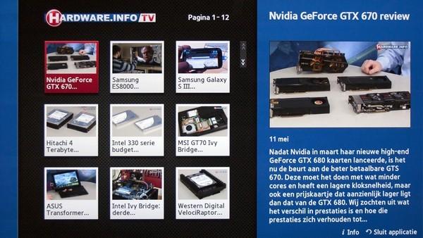 Hardware.Info TV via Samsung Smart TV