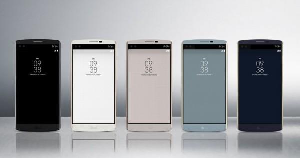 LG V10 kleuren