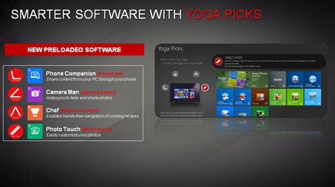 Lenovo Yoga Picks