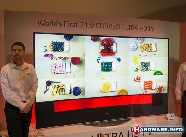 LG 5K UHD 21:9 TV