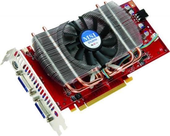 Silent versie van de MSI 9600GT heeft Zalman koeling en 1 GB GDDR3
