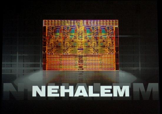 Nehalem quadcore processor