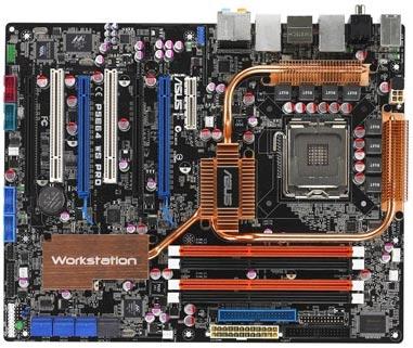 Asus' nieuwe P5E64WS workstationbord