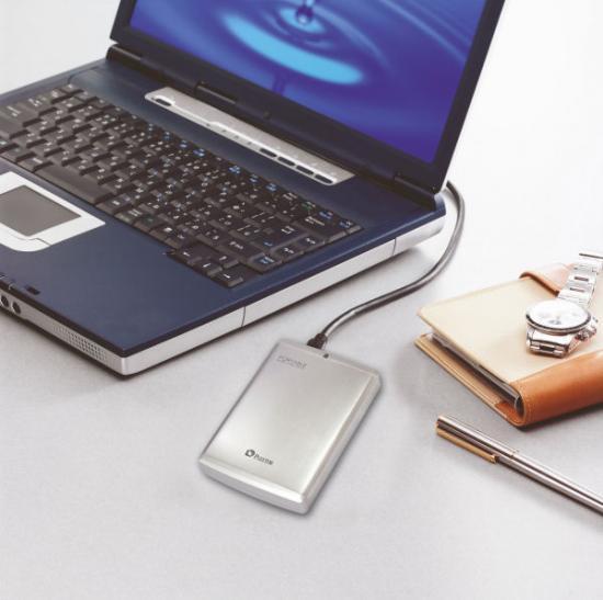 Plextor's nieuwe externe schijf met eSATA en USB