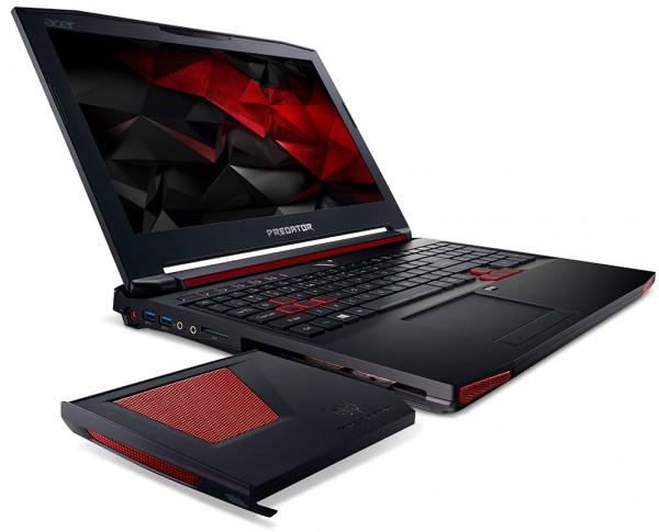 Acer Predator 15 met Cooler Master fanmodule