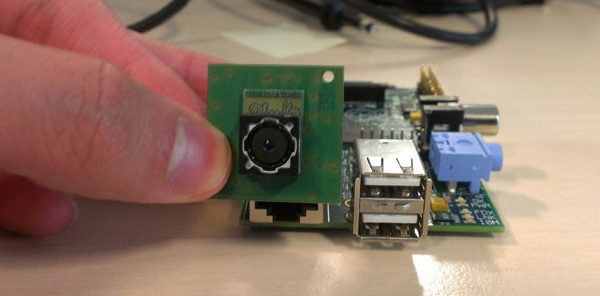 Cameramodule onderweg voor Raspberry Pi mini-computer