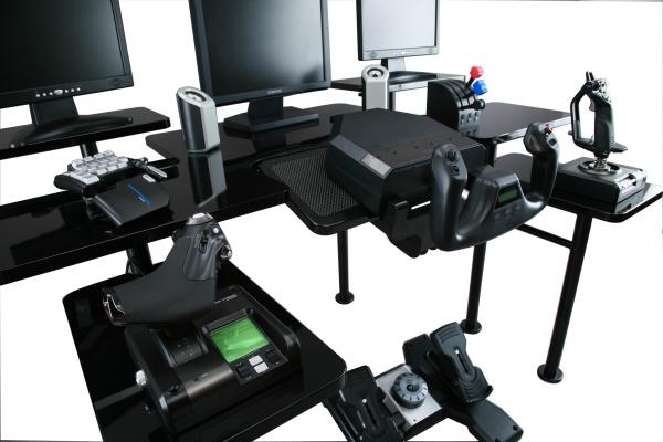 Grapht roccaforte het perfecte bureau voor gamers for Bureau pc gamer