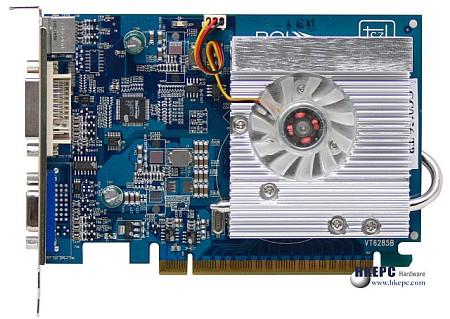 De Chrome S27 uit 2005 van S3 Graphics